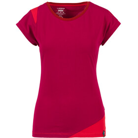 La Sportiva Chimney T-Shirt Women Beet/Garnet